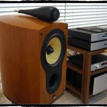 805S Natural Cherry Speakers