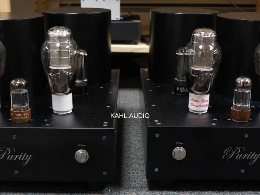 Purity Audio Design PSE300B Ultra monoblocks. 18W of pure musical bliss! $26,000 MSRP.