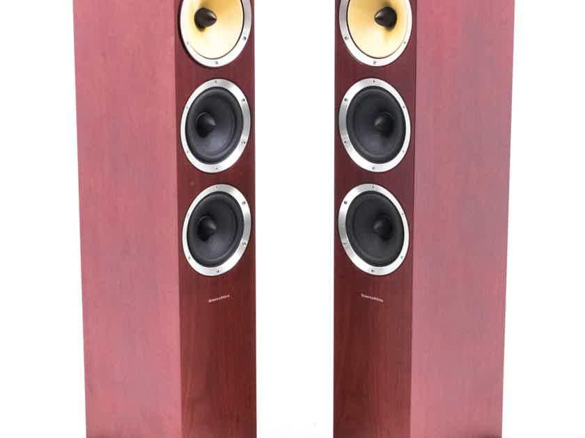 B&W CM8 Floorstanding Speakers; Rosewood Pair (21555)