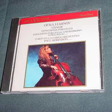 CD Ofra Harnoy Vivaldi concertos for cello Paul Robinson RCA VICTOR 1988