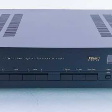 P/DD-1500 5.1 Channel Surround Decoder