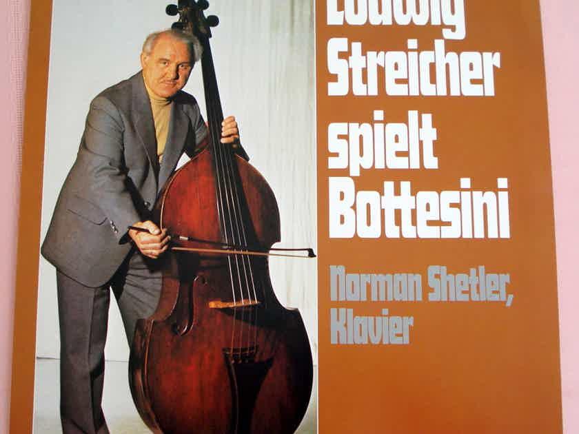 LUDWIG STREICHER Spielt Bottesini Audiophile LP MINT !