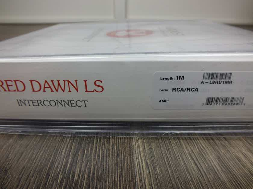 Nordost Leif Red Dawn interconnects RCA 1,0 metre BRAND NEW