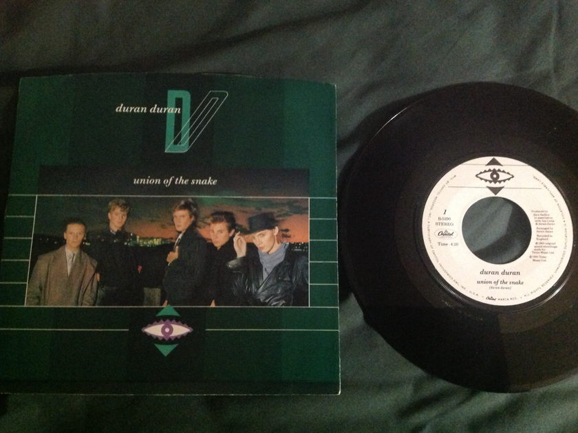 Duran Duran - Union Of The Snake 45 With Sleeve