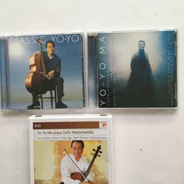 Yo-Yo Ma plays cello masterworks 8 Cd set As Is Plus 2 ...
