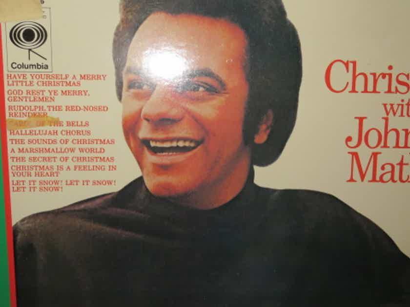 JOHNNY MATHIS - CHRISTMAS W JOHNNY MATHIS CHRISTMAS MUSIC SHRINK ...