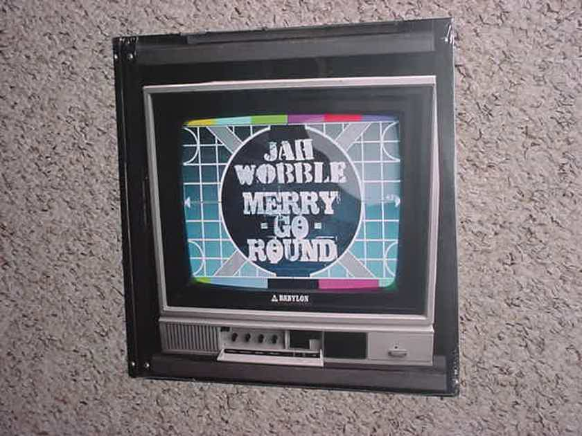 SEALED 10 inch record  - Jah Wobble merry go round 2015 Cherry RED RECORDS
