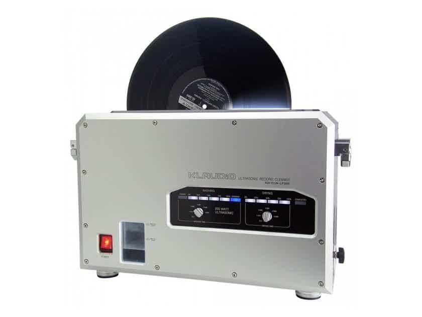 Klaudio KD-CLN-LP200 Ultrasonic Record Cleaning Machine