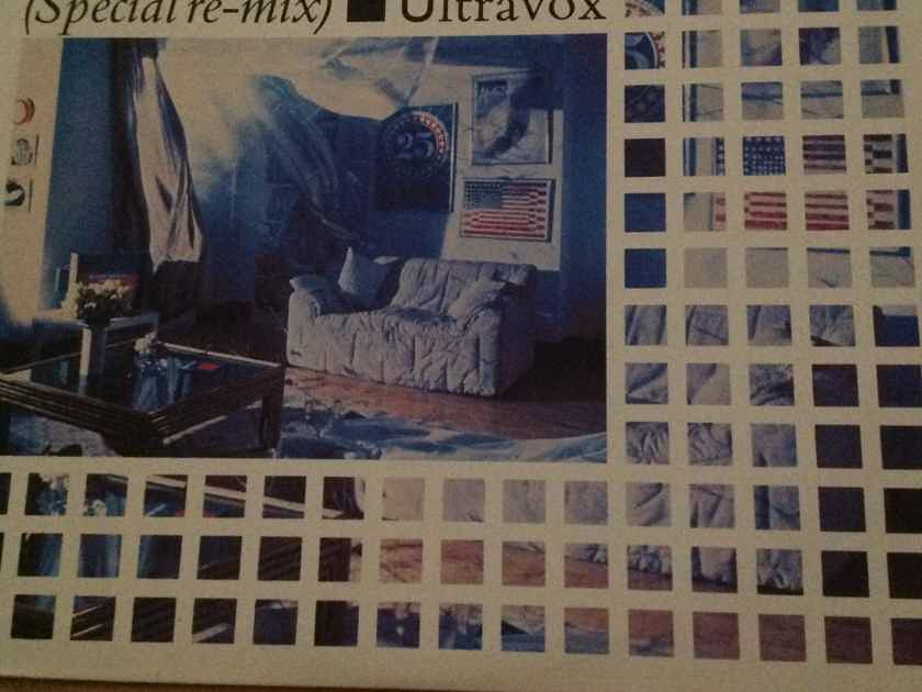Ultravox - Dancing With Tears In My Eyes(Special re-mix) Chrysalis Records 12 Inch Vinyl NM
