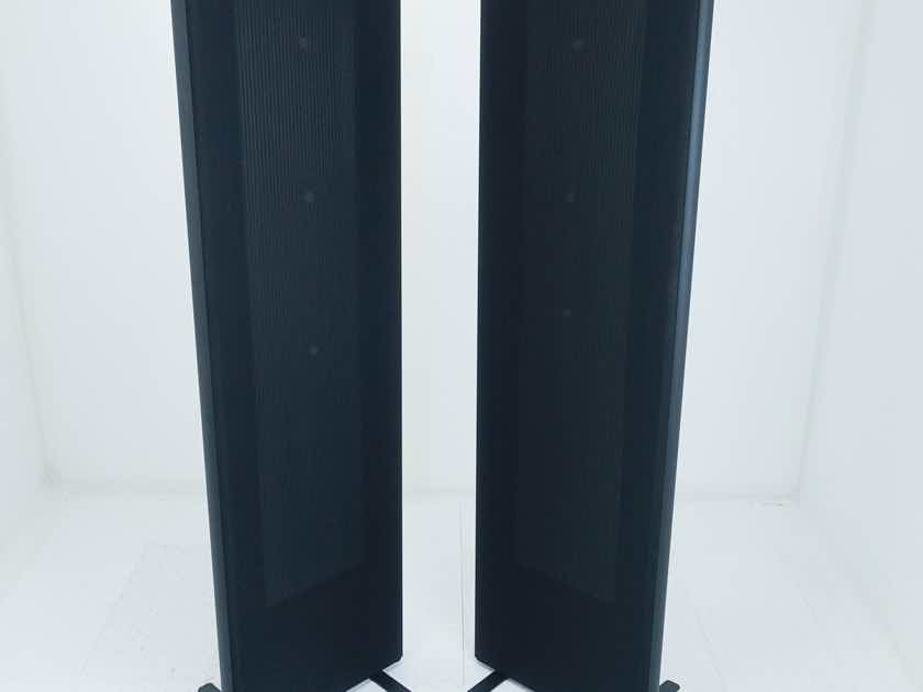 Magnepan MG 1.7i Magnetic Planar Floorstanding Speakers Black Pair (16289)