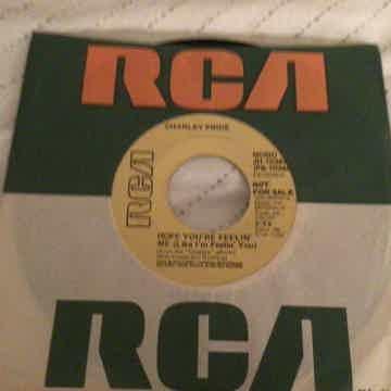 Charley Pride Promo Mono/Stereo 45 NM  Hope Your Feellin Like Me
