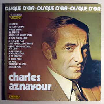 Charles Aznavour - Le Disque D'or De Charles Aznavour ...