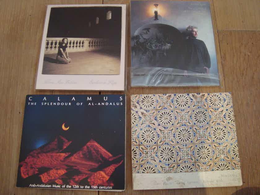 MA Recordings, 4CDs - Bach, Calamus, Naser, etc. 96/24 audiophile