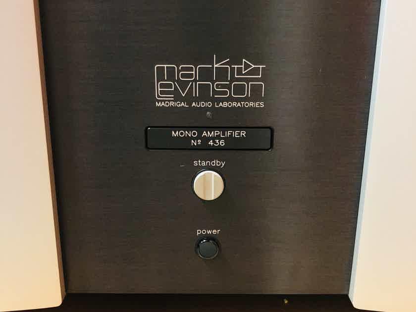 Mark Levinson No 436 Monoblocks Amplifiers