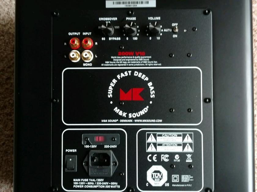 MK Sound V 10 Subwoofer