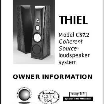 Thiel Audio CS-7.2