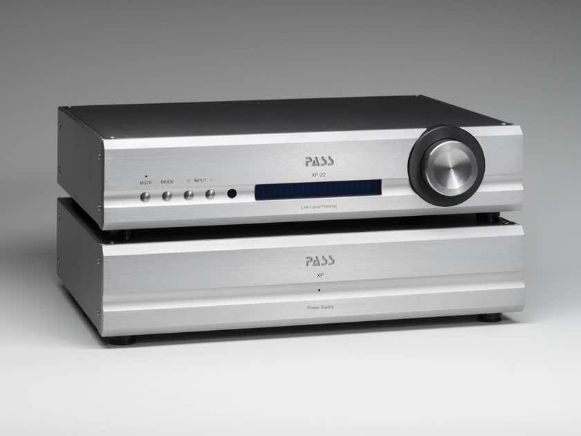 Pass Labs XP-22 - Reference Stereo Preamp w/ Outboard Power-supply