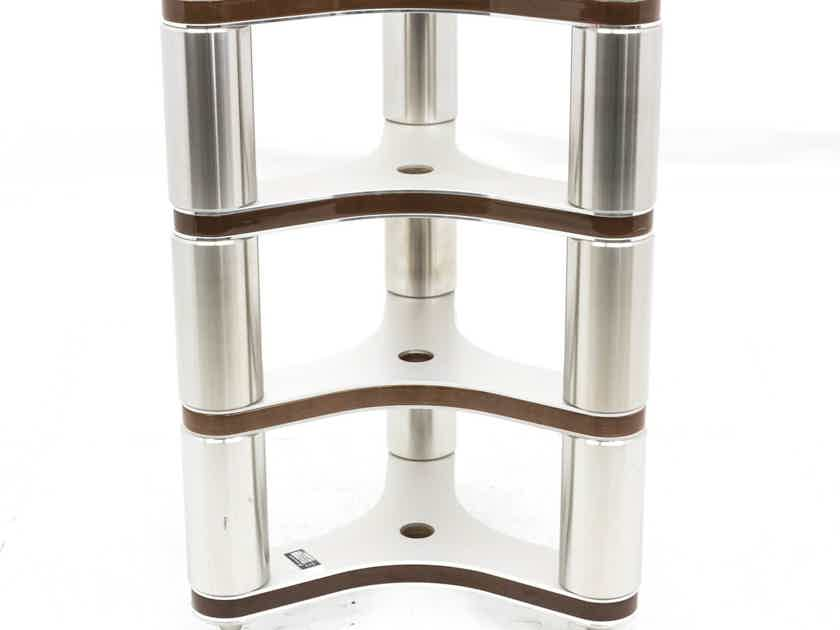 Clearaudio Everest Turntable Stand; 4-Layer; 25in; Wood Finish (25999)