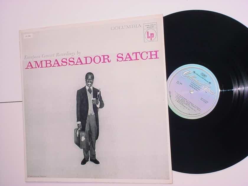 Louis Armstrong Ambassador Satch lp record European concert recordings CSP  JCL 840