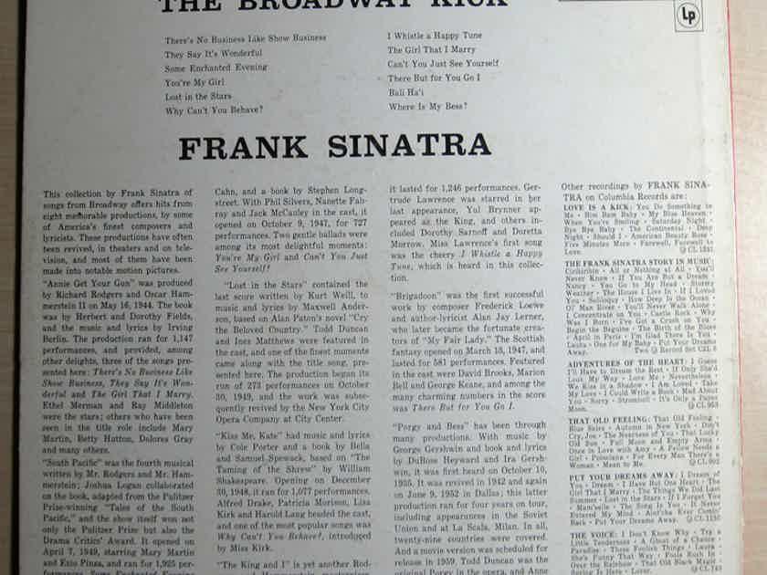 Frank Sinatra - The Broadway Kick 1959 Mono Original Press NM- Vinyl LP Columbia CL 1297