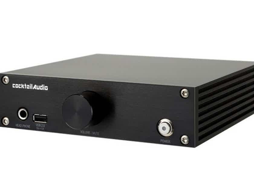 Cocktail Audio N15D Network Streamer / Server; Black (New / Open Box - Warranty) (17496)