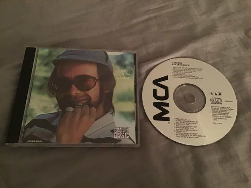 Elton John Rock Of The Westies MCA Records Japan CD