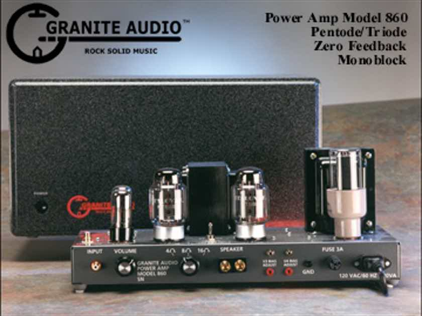 Granite Audio 860.7 Kt-88 tube mono blocks