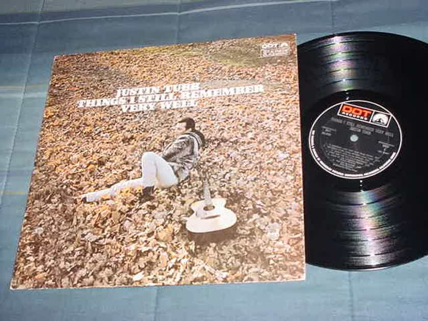 Justin Tubb lp record - Things I STILL REMEMBER VERY WELL DOT Stereo DLP 25922