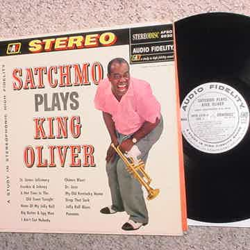 Satchmo plays King Oliver stereo