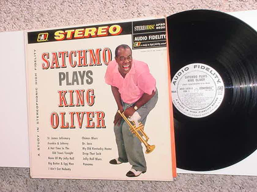 Audio Fidelity AFSD 5930 LP Record - Satchmo plays King Oliver stereo