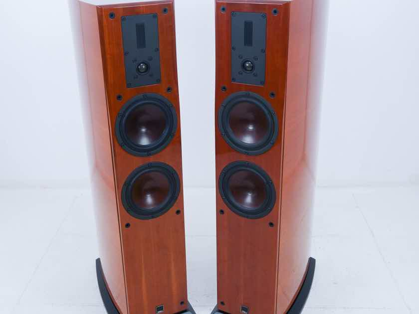 Dali  Helicon 400  Floorstanding Speakers; Cherry Pair (10438)
