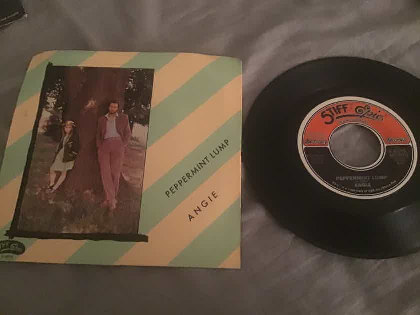 Angie Pete Townshend  Peppermint Lump/Breakfast In Naples With Sleeve