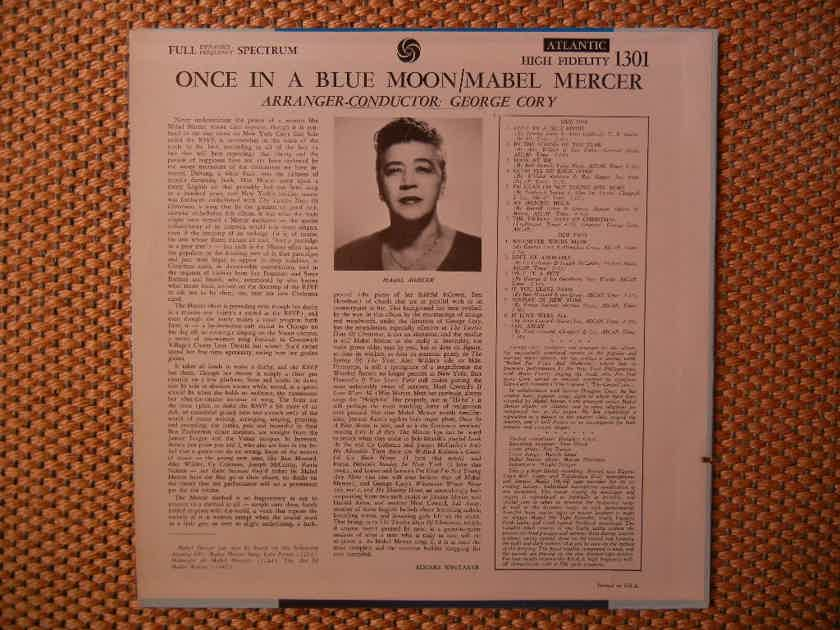 Mabel Mercer - Once In A Blue Moon Atlantic Records SD 1301 HI-FI