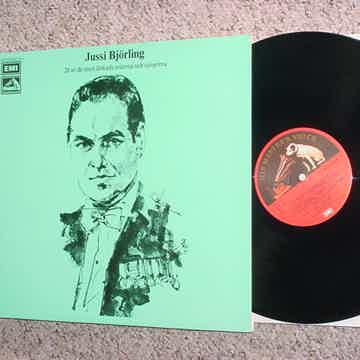 Jussi Bjorling double lp record  - EMI His masters voic...