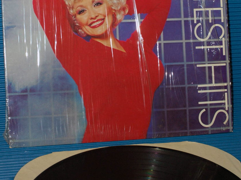 """DOLLY PARTON   - """"Greatest Hits"""" -  RCA 1982 hot side 1"""