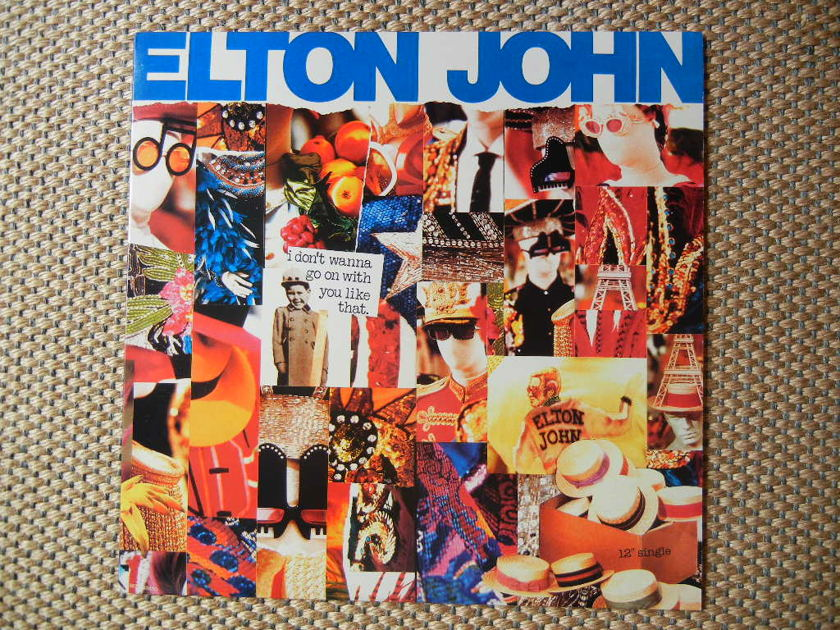 ELTON JOHN - I DON'T WANNA GO ON WITH YOU LIKE THAT MCA Records 23870