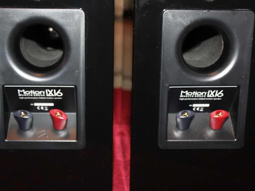 Martin Logan Motion LX16 Loud Speakers  Black Lacquer