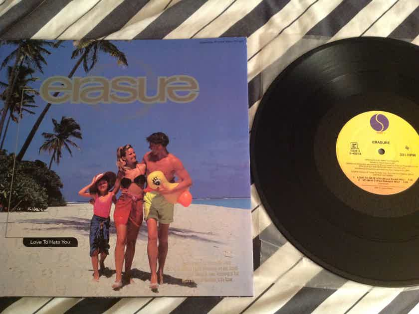 Erasure  Love To Hate You 12 Inch EP Sire Reprise Mute Records