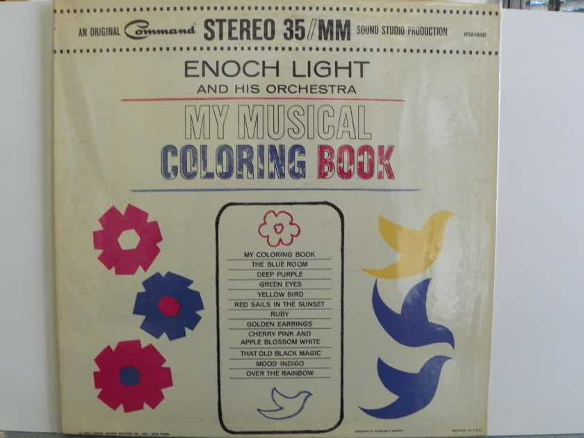ENOCK LIGHT - MY MUSICAL COLORING BOOK
