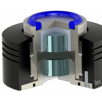 Alto-Extremo NeoFlex XL magnetic absorber feet inside