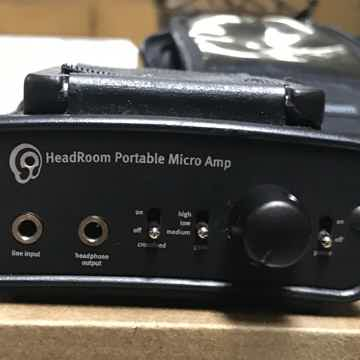 HeadRoom Portable Micro Headphone Amplifier with DAC