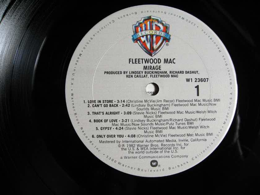 Fleetwood Mac - Mirage - Vinyl LP 1982 Warner Bros. Records W1 23607