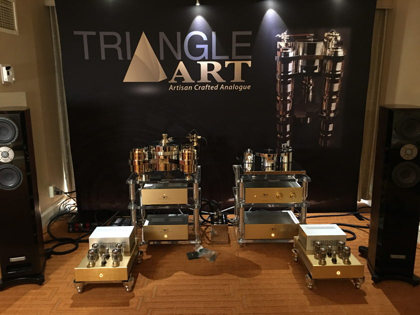 TriangleART Reference Tube Preamplifier With External Power Supply