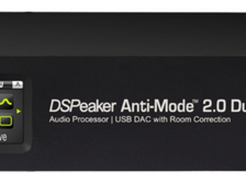 DSPeaker Anti-Mode 2.0 Dual Core  Room Correction w/preamp and DAC- In stock