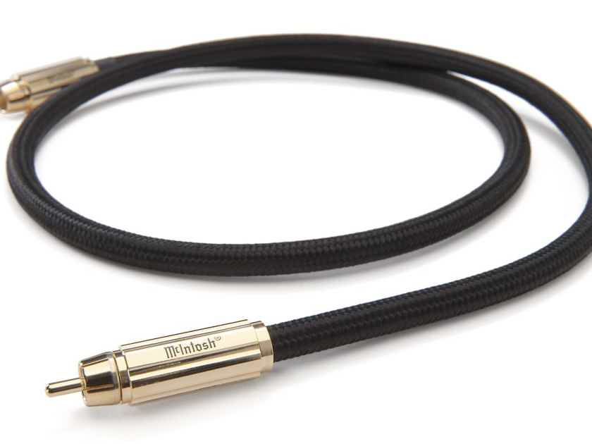 McIntosh CDA1M RCA Digital Coaxial Cable; Single 1m Interconnect; CDA-1M (New) (25480)