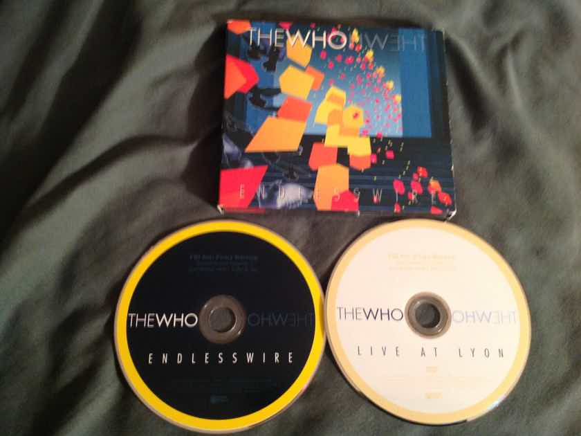The Who Endless Wire Compact Disc + DVD