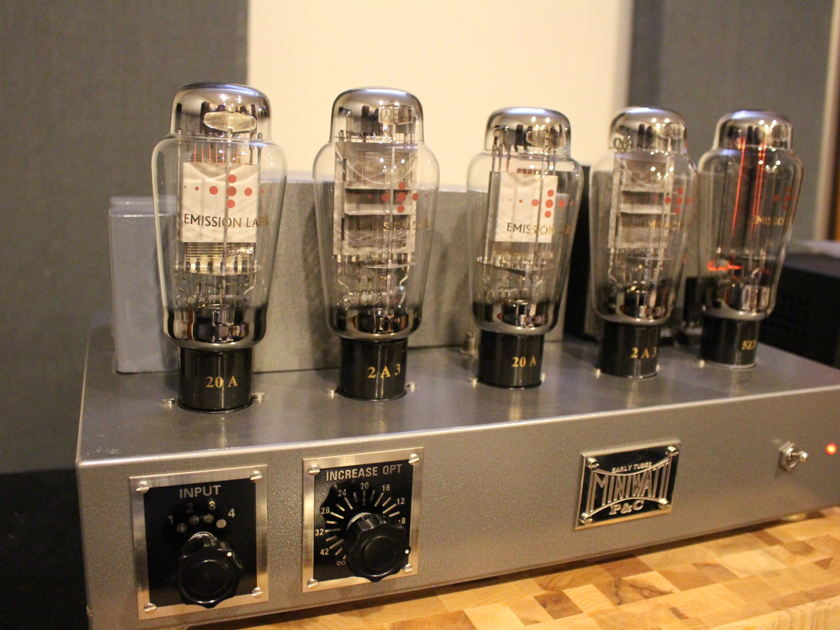 Kurashima 2A3 Integrated Tube Amplifier. Amazing. Full Emmision Labs Tube Complement