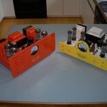 DYNACO BY WILL VINCENT ST-70,,,,,,ORANGE TUBE AMPLIFIER