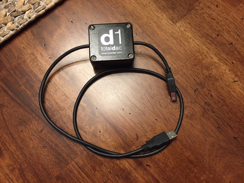 Totaldac USB cable /filter 1 meter in length