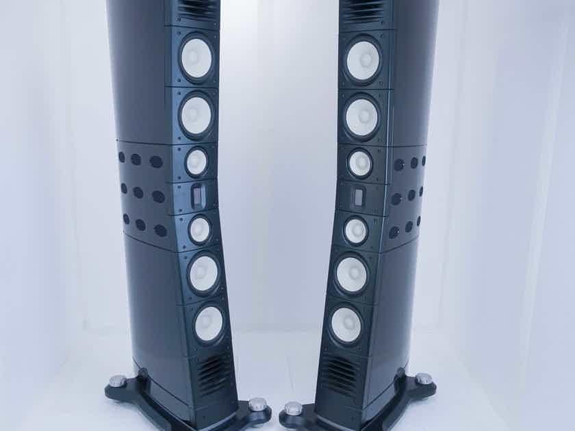 Raidho C4.1 Floorstanding Speakers; Piano Black Pair; C-4.1 (16007)